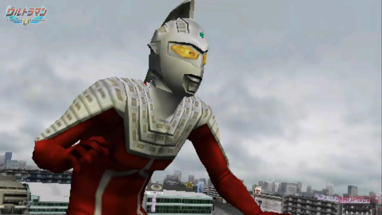 UltraSeven Story Mode pt.2/5 ϟ Ultraman Fighting Evolution ...