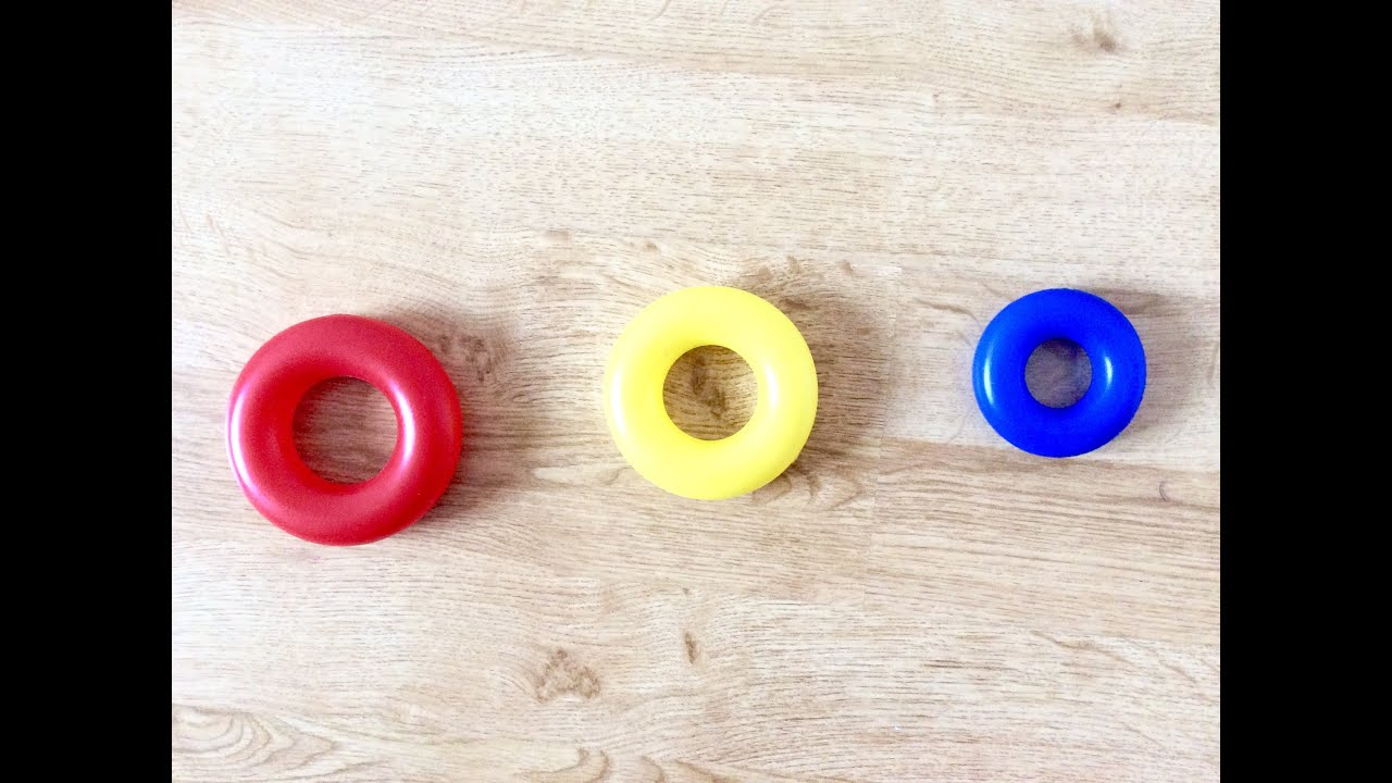 Kids Fun Learning Colours And Grammar - Identifying Small, Smaller ...