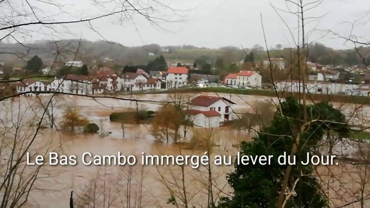 DECEMBRE 2019: Le Pays basque sous les eaux