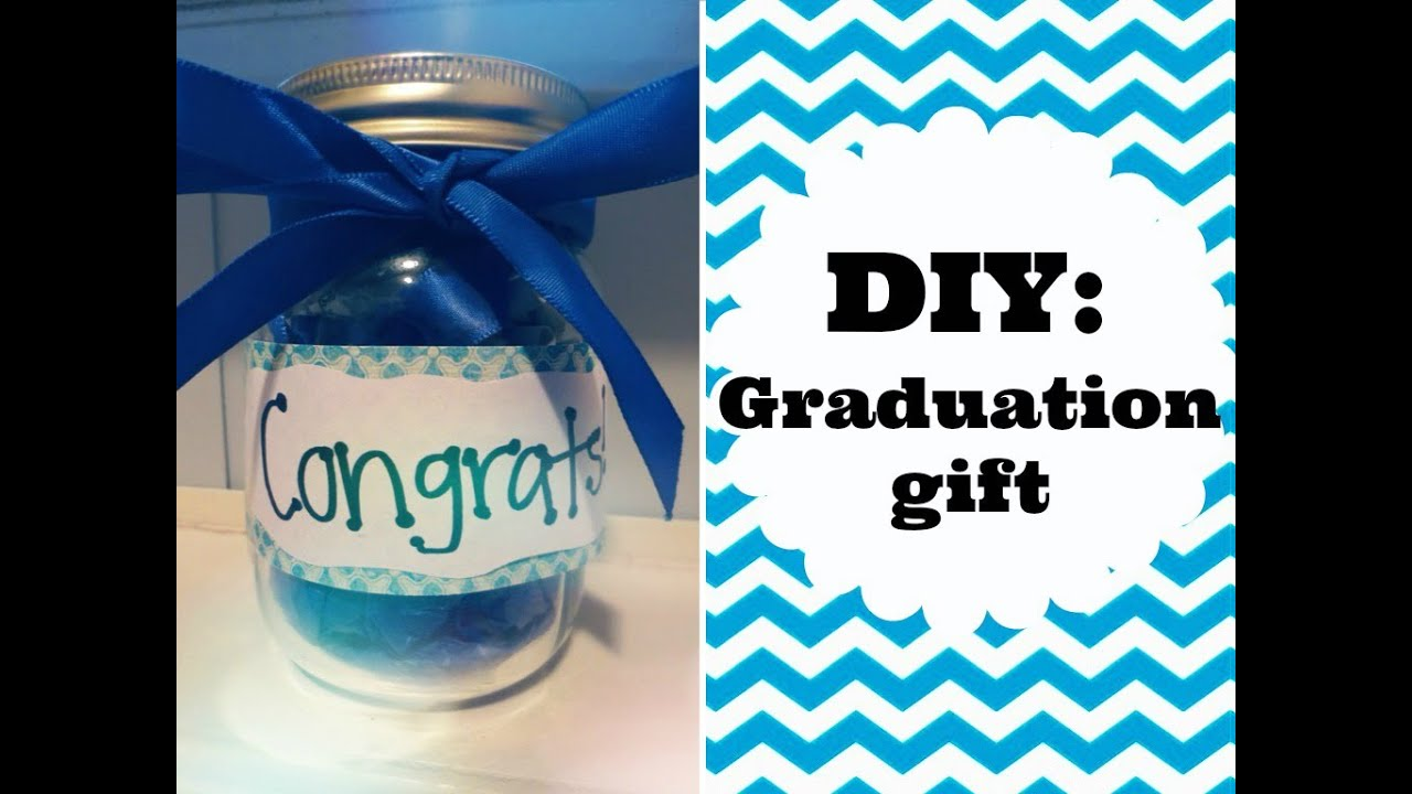 Diy graduation gift idea youtube for Easy diy gifts for boys