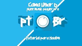 Como usar ou modificar os templates (modelos) no Avee Music Player Pro
