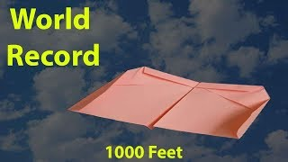 paper airplanes | Learn: How To Make A World Best Paper Airplane - Very Easy