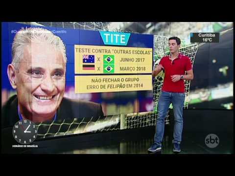 Bruno Vicari comenta desempenho do Brasil nas Eliminatórias da Copa - SBT Notícias (29/03/17)