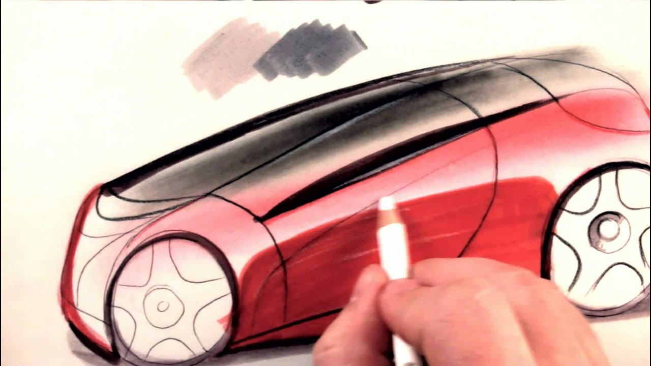how to draw cars colored pencil tutorial youtube. Black Bedroom Furniture Sets. Home Design Ideas