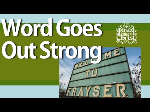 The Israelites:  Truth Goes Out Strong On Frayser Blvd