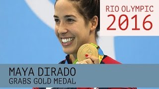 Rio Olympic 2016 - Maya DiRado Grabs Gold Medal, Exiting the Sport, Catches Katinka Hosszu