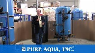 Steel Water Softener USA, 100,000 GPD | www.PureAqua.com