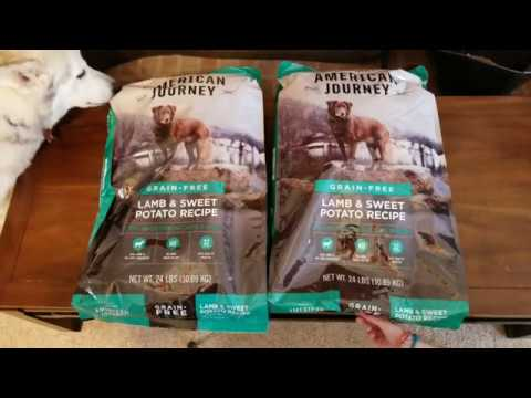 What's In The Box? 1st Chewy Order Unboxing.  American Journey Grain Free Dog Food.