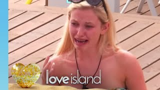 It's an Emotional Goodbye as Amy Decides to Leave the Villa | Love Island 2019