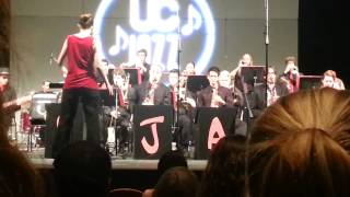 "Ursinus College Jazz Ensemble does ""Brass Machine"""