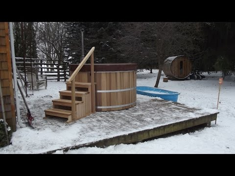 Cedar Hot Tub Assembly Instructions