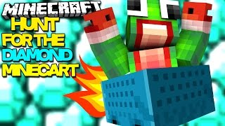 THE HUNT FOR THE DIAMOND MINECART | Minecraft