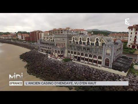 VUE D'EN HAUT : L'ancien Casino D'Hendaye, Vu D'en Haut