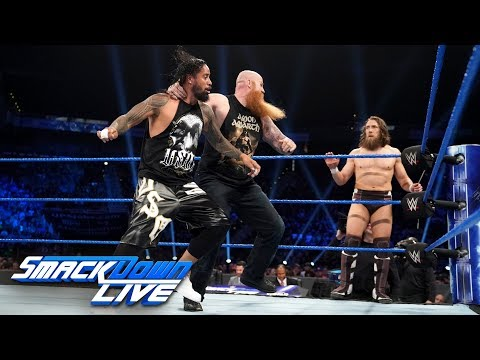 WWE SmackDown: Daniel Bryan and Rowan As Tag Team Champions is a great move