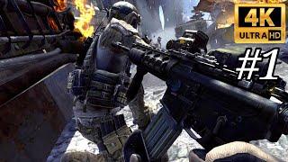 Call of Duty Modern Warfare 3 Gameplay Walkthrough Part 1 MW3 - (PC 4K)