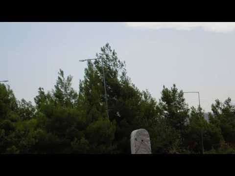 A formation of two Mirage 2000-5's over Tanagra, Greece pt.6