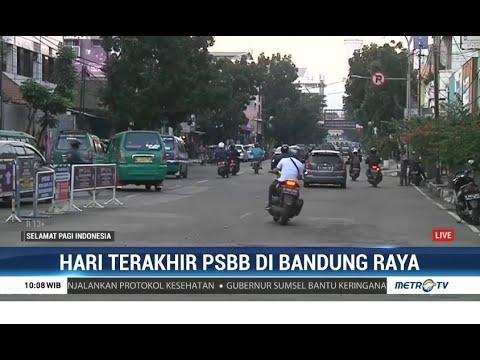 Hari Terakhir PSBB, Sejumlah Ruas Jalan di Bandung Terpantau Ramai