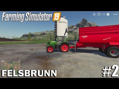 CONTRACTING  Felsbrunn   Timelapse #2   Farming Simulator 19