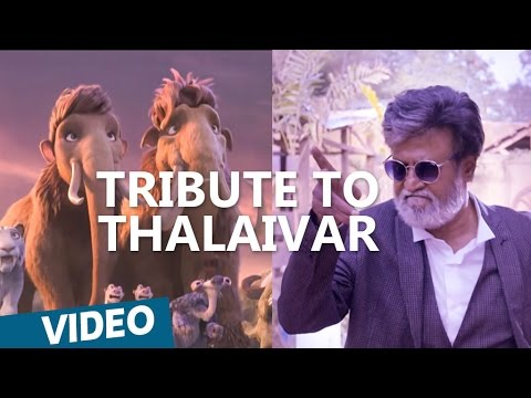 Kabali | Tribute To Thalaivar from Ice...