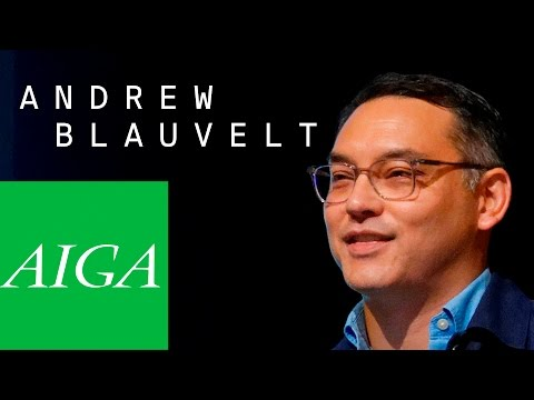 Andrew Blauvelt | Everyone's a designer, critic, curator | 2016 AIGA Design Conference