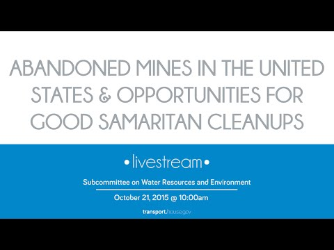 Abandoned Mines in the United States and Opportunities for Good Samaritan Cleanups