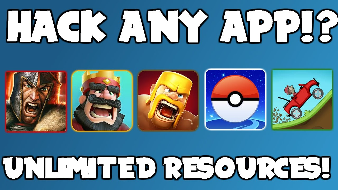 How to hack ANY app and get UNLIMITED coins/gems/xp in 2017 *WORKING*