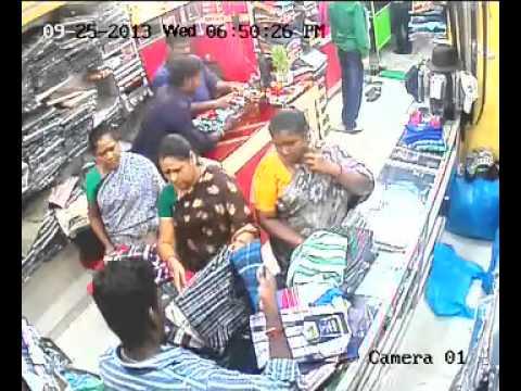 Theft at Puducherry Readymade showroom