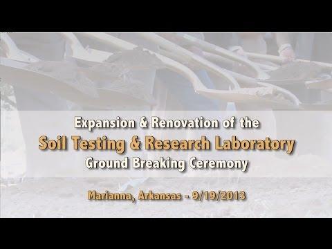 Soil Test Lab Renovation & Expansion Ground Breaking