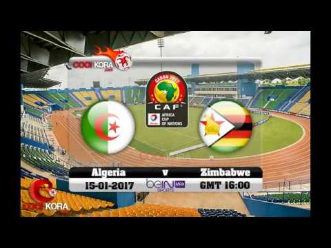 Algeria vs Zimbabwe Live 15-1-2017
