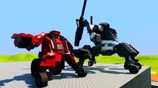 WALKI WIELKICH ROBOTÓW!! - BRICK RIGS /Paveł || Plaga