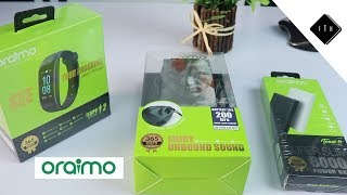 ORAIMO SMART ACCESSORIES UNBOXING & QUICK REVIEW + GIVEAWAY