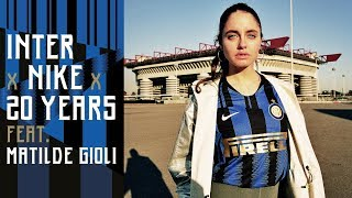 Inter and nike unveiled a special shirt for the 2018/19 season which celebrates 20 years of partnership between two. to mark occasion, design ...