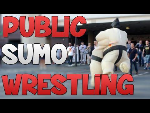 EXTREME PUBLIC SUMO WRESTLING!