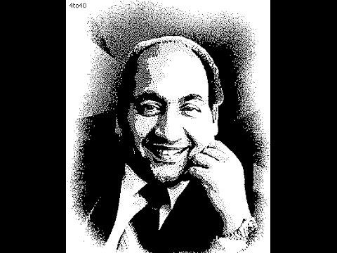 Parda Hai Parda   Muhammad Rafi Live