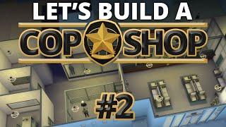 The Sims 4 - Let's Build A Cop Shop - Part 2