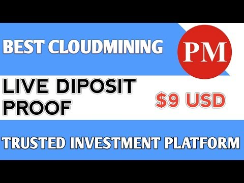 New BITCOIN Cloudmining Site    Live Diposit Proof Trusted