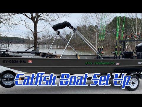 Catfish Boat Set Up