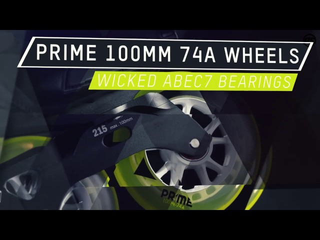 REIGN TRITON Hockey Inline Skate – 360° Fiberglass Composite Triskate   TRINITY MOUNT & PRIME Wheels