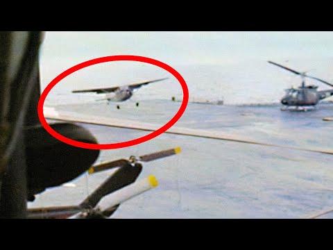Stolen Cessna that Landed on an Aircraft Carrier - O-1 Bird Dog - Vietnam War Legend