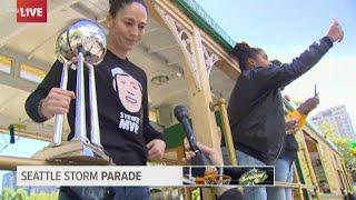 Sue Bird on Breanna Stewart winning MVP