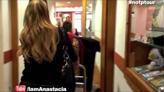 Anastacia #NOTPTour Behind the Scenes Hotel Footage