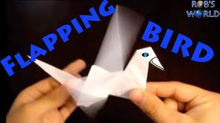 How to Make an Origami Flapping Bird - Rob's World