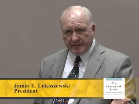 Jim Lukaszewski On The Metrics Of Crisis