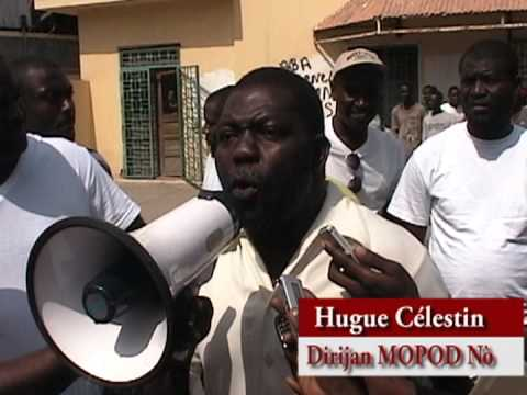 Sit-in de solidarité avec Radio Télé Kiskeya au Cap-Haïtien