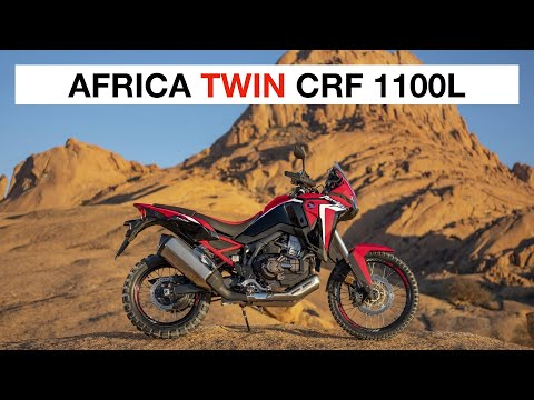 Video and images of the new Honda Africa Twin 1100