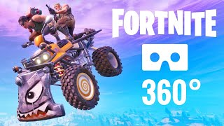 360 Fortnite VR vídeo Quadcrasher Realidad Virtual Google Cartón