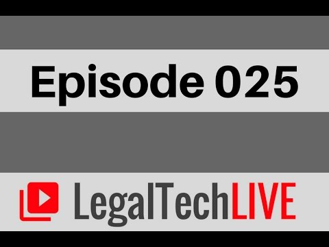 Tom Martin, Founder of chatbot LawDroid - LegalTechLIVE - Episode 025