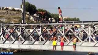 Saltos da Ponte Luis I - Cidade do Porto