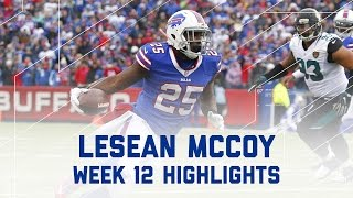 LeSean McCoy Racks Up 134 Yards & 2 TDs!  | Jaguars vs. Bills | NFL Week 12 Player Highlights