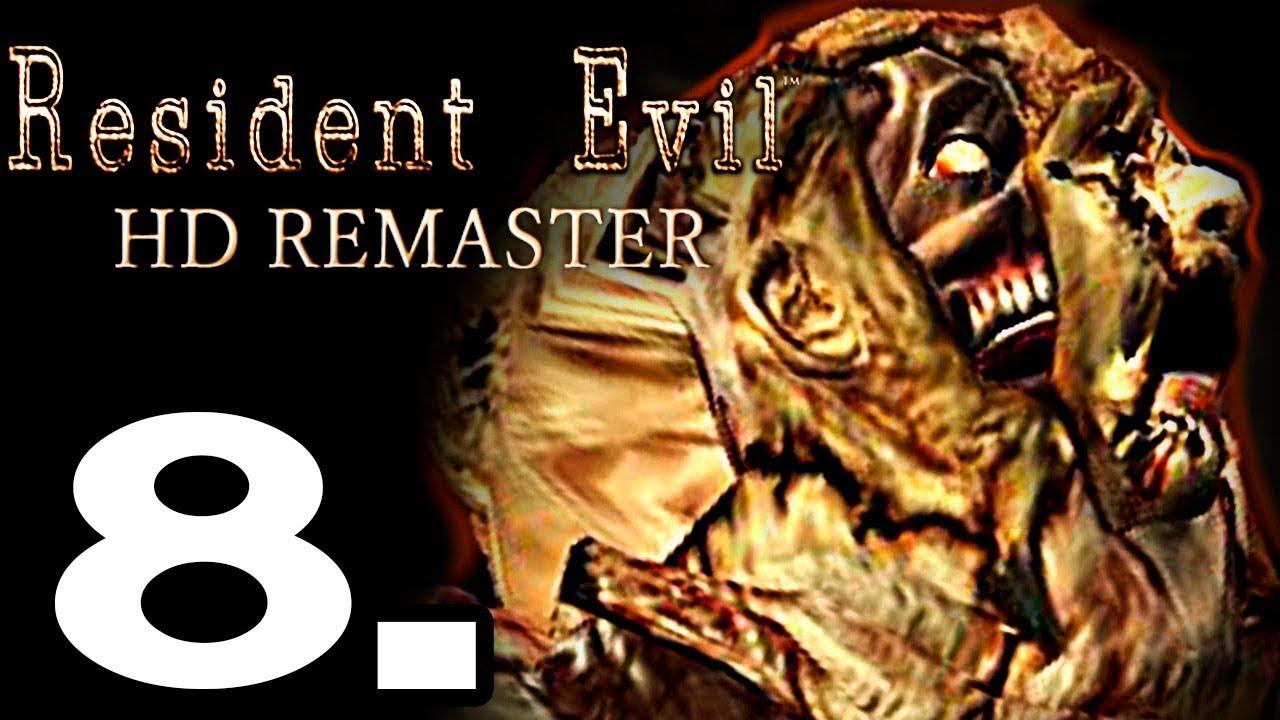 RESIDENT EVIL HD REMASTER GAMEPLAY ESPAÑOL #8 - ENFRENTAMIENTO CON LISA TREVOR